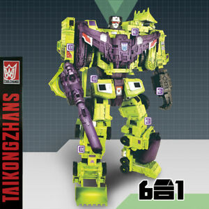 Transformation Robot Hasbro IDW Devastator Figure KO IN BOX