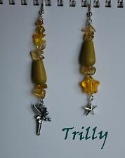 Orecchini Trilly Cosplay Peter Pan - Earrings Tinkerbell Stars Disney