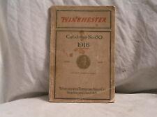 WINCHESTER 1916 CATALOG NO. 80