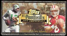 1996 Topps Football 40th Anniversary Factory Complete Set Namath
