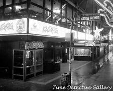 The Kaiserkeller Club, St. Pauli, Hamburg, Germany - Black and White Photo Print