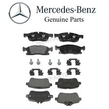 Mercedes ML350 GLE300d GLE350 ML250 Set Of Front and Rear Brake Pads Set Genuine