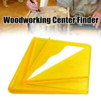 Plastic Center Finder Carpentry Circle Marker Center Tool Woodworking Gauge Y1M9