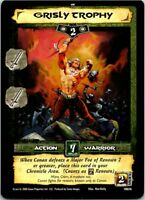Conan Core CCG TCG Card #076 Grisly Trophy