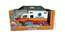 Driven Lights & Sound AMBULANCE Emergency Play Vehicle **NEW**