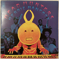 HERBIE HANCOCK HEAD HUNTERS LP CBS ORANGE LABELS UK 1973 RARE FIRST PRESS