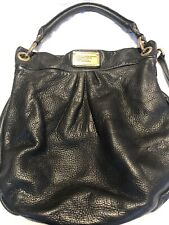 Marc by Marc Jacobs Black Jacquard Hillier Hobo Handbag Purse