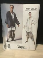 Issey Miyake Vogue Designer NEW Orig. Pattern #1328 LARGE Jacket Top Pants 1991