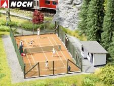 """NOCH H0 65615 Laser-Cut Themen-Set """"Tennisplatz"""" - NEU + OVP"""