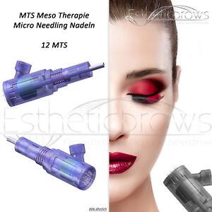 12 er MTS Mesotherapie Micro Needling Module 5 Stück