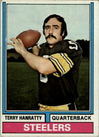 1974 Topps #382 Terry Hanratty - VG