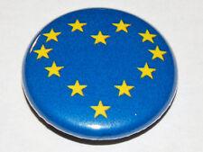 EU HEART 25MM / 1 INCH BUTTON BADGE REFERENDUM STAY STAR