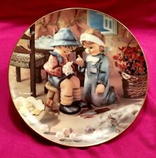 "Hummel Collector Plate - ""Tender Loving Care"" from ""Little Companions"" - 1992"