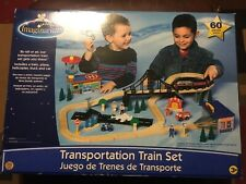 IMAGINARIUM - 60 piece transportation train set toys r us exclusive fits thomas