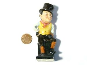Antique Doulton Figurine Victorian Cobbler Man Top Hat SAM WELLER