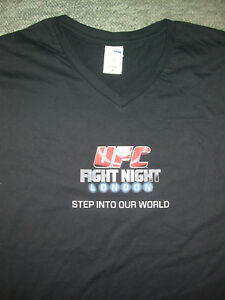 UFC FIGHT NIGHT LONDON O2 EVENT STAFF SHIRT L LARGE MMA MUAY THAI BOXING GYM NE