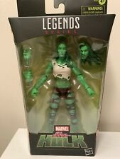 """New listing Marvel Legends Hasbro Exclusive She-Hulk 6"""" Action Figure New"""