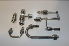 lot of 5 mix Brass Compression Fittings plus more