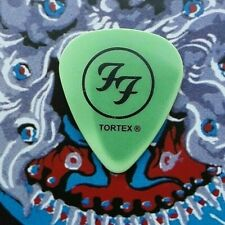 FOO FIGHTERS Saul Goode faded green guitar pick