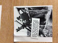 B1o  ephemera 1963  picture esso sales rep sam alexander british industrial sand