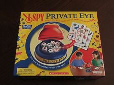 I SPY Private Eye Game - 100% Complete - Can You Remember What You Spy? - VGC