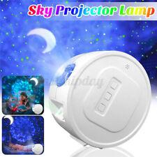 3 IN1 LED Light Galaxy Night Lights Projector Star Sky Light Ocean Wave Lamp