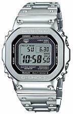 G-Shock Digital Silver All-Metal Solar Mens Watch GMWB5000D-1