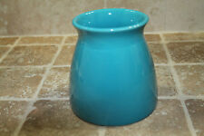 "5"" Contemporary CYLINDER Ceramic Turquoise Vase"