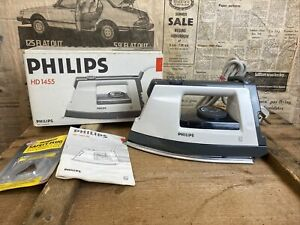 Vintage Philips HD1455 1000W 230-240v Steam Iron (Boxed)