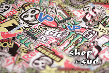 STICKERS BOMBERS AUTOCOLLANT 20 X 10CM MOTO CROSS SUPER CROSS SUPERMOTARD ENDURO