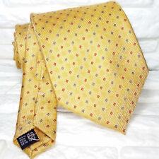 Cravatta uomo TOP Made in Italy 100% seta business matrimoni CUCITURE A VISTA