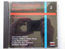 MURRAY STEWART <>  Jean Langlais - Psaumes Solennels Vol. 2  <> NM (CD)