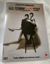 Ma Femme est une Actrice Sealed New Pal Region 2 DVD French 2001