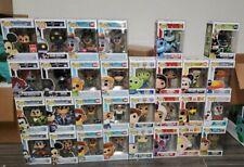 Funko Pop Disney Kingdom Hearts, Takespin, Toy Story, Aladdin, Moana
