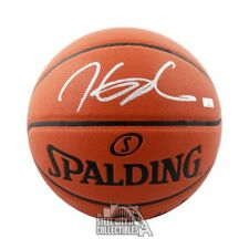 Kevin Durant Autographed Spalding Basketball (Silver Ink) - Panini COA