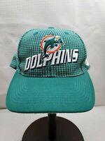 Vintage Miami Dolphins NFL PRO LINE Logo Athletics STRAPBACK Hat Cap