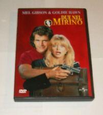 FILM DVD - DUE NEL MIRINO   -  MEL GIBSON  GOLDIE HAWN  IN OTTIME CONDIZIONI