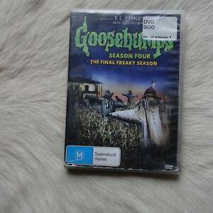 GOOSEBUMPS Season 4 The Final Freaky Season 1998 DVD Video HORROR Thriller KIds