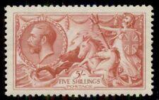 Great Britain #180, 5sh Seahorses, og, Lh, Vf, Scott $300.00