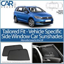 VOLKSWAGEN VW Touran 5dr 2015> CAR SHADES UK TAILORED UV SIDE WINDOW SUN BLINDS