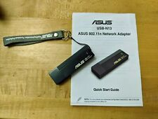 ASUS USB-N13 Wireless Adapter IEEE 802.11b/g/n USB 2.0 Up to 300Mbps Wireless Da
