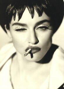 1992 Herb Ritts Singer Madonna Face Close Up Art Photo Gravure Photogravure