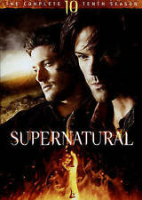 Supernatural: The Complete Tenth Season (DVD, 2015, 6-Disc Set
