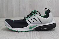 30 New Nike Air Presto Essential Black/Green Running Shoes 848187 003 Men's 8-11