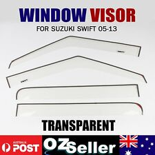 Weathershields for Suzuki Swift 05-13 Window Visors Weather Shields Transparent