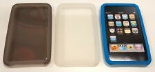 3X Apple iPod Touch 2nd Generation Silicone Skin Cover Case 3 Pack
