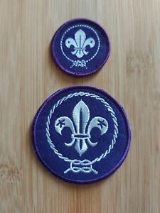 UK Scouting Current Scout Membership Blanket Badge (Large Badge Only)