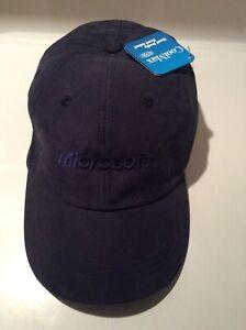 Microsoft Hat Computer Cap Employee Baseball Embroidered Vintage Logo Cool Mat