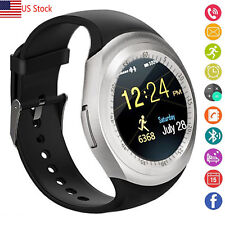 US Shipping Smart Watch Bluetooth Unlocked Watch for Samsung Note 8 5 4 3 A3 A5