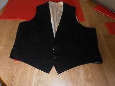 1906 Bernard Weatherill Black Evening Dress Waistcoat size 36""